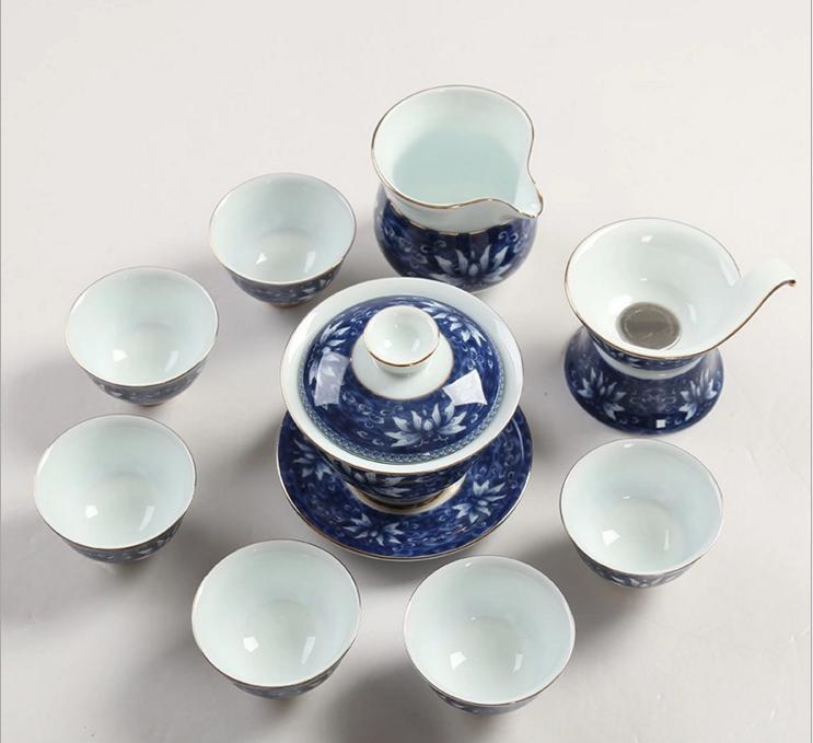 供应伊宋茶具窑变茶具套装天目釉茶杯茶壶整套陶瓷高档礼品
