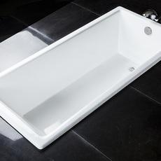 嵌入式南海卫浴铸铁搪瓷浴缸酒店工程经典款