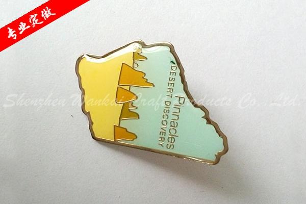 异形金属徽章定做 专业定制金属徽章 烤漆徽章制作价格