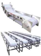 YY-1500型配套梳子板/节距27.2MM/反向弯曲半径50MM设备