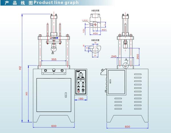 产品供应 单柱压装系列 > 四柱小型液压机  订货量 价格 1 - 4  台图片