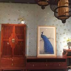 供应实木电视柜组合背景墙樟木电视柜 客厅简约电视柜