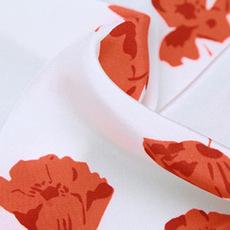 上海活性印花厂真丝双绉数码印花白坯面料
