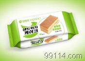 好食多袋装夹层蛋糕【香蕉味】韩国休闲零食品/烘烤类糕点/方块蛋糕/方形蛋糕/