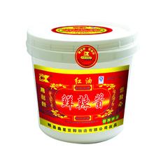 四川特产 正宗川味 厂家直销 创新牌郫县鲜辣酱桶装7kg