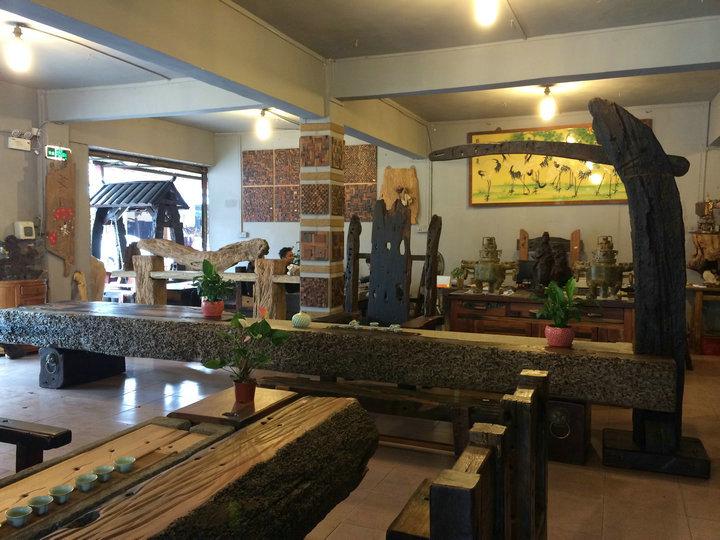 中山船木一品家具茶台 老船木园林设计等 一品老船木茶台防虫防水