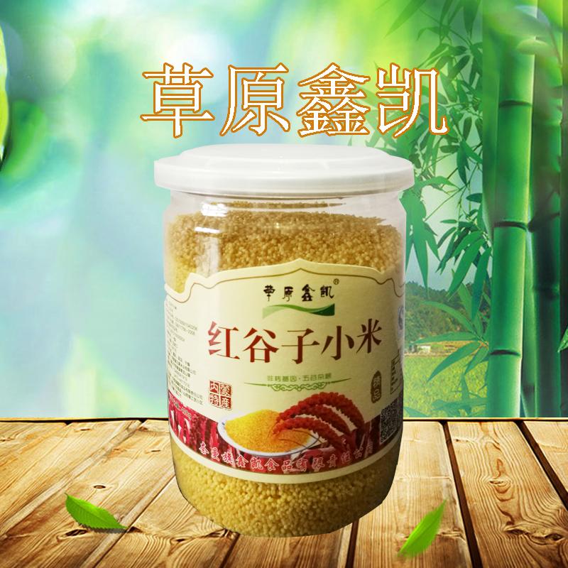 草原鑫凯精品 黄小米 桶装420g
