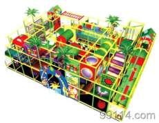 河北沧州新款淘气堡乐园电动椰子树儿童滑梯