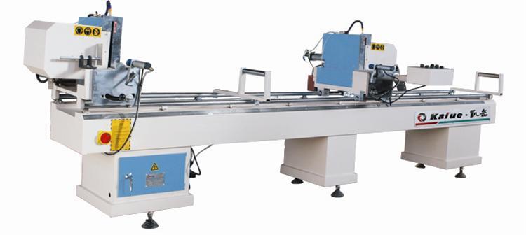 凯岳铝塑型材双头切割锯床塑钢门窗设备价格–中国网