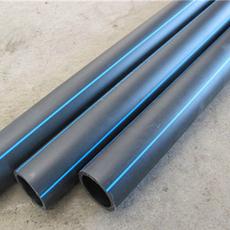 供应pe给水管 塑料hdpe给水管道 pe穿线管 厂家批发黑色hdpe排水管材