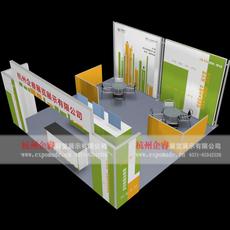 环保展架 36平方展览布展设计 出国展览布展便携式展架