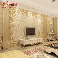 瓷砖背景墙 客厅电视背景墙 现代中式影视墙 3d 瓷砖背景墙 壁画