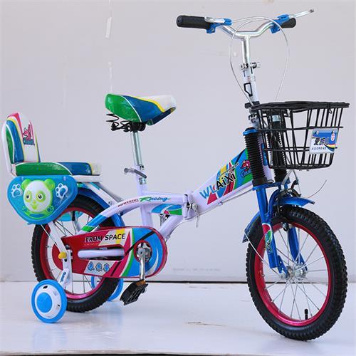 最新新品批发男女折叠儿童自行车12寸14寸16寸巡洋舰款