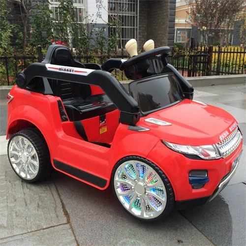 新款路虎四轮双驱儿童遥控电动车