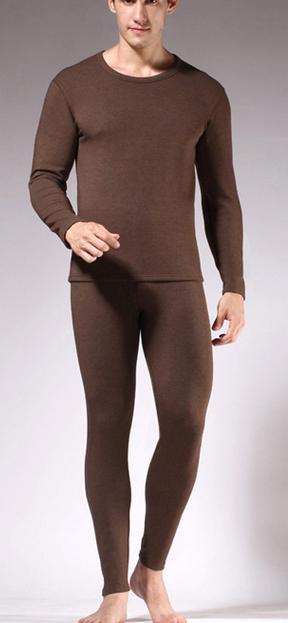 2015新款秋衣秋裤单层磨毛保暖套装批发正品保暖内衣套装厂家直销