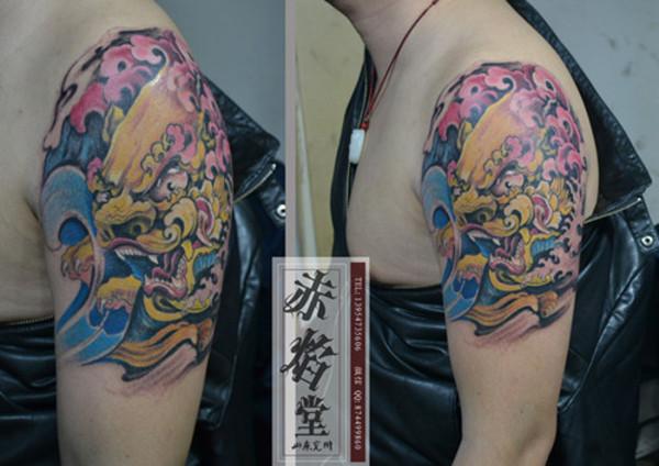 > 纹身手稿 设计纹身图案 纹身价格  订货量 价格 ≥ 1  副 100元/副图片