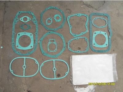 长江750边三轮摩托车配件---32P全车纸垫