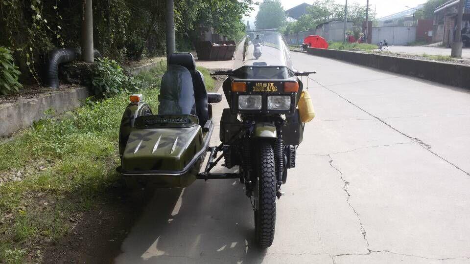 迷彩湘江750边三轮摩托车