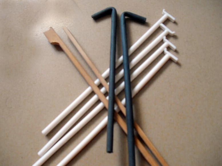 纸撑筷(鞋筷)原料来自于FSC认证的木材,可个性化定制
