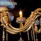 欧式 大气炉钧釉钧瓷吊灯 客厅卧室餐厅凯旋8头灯饰