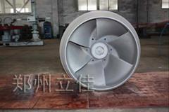 立佳涂層加工超音速噴涂水泵葉輪噴涂