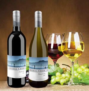 供应 加拿大艾维尔溪酒庄百纳干红葡萄酒