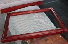 埔鑫陶瓷相框背板厂家直销木质喷漆 来图来样订制