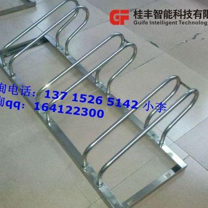 SUS304不锈钢自行车停车架长期室外使用不生锈