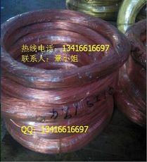 低价供应洛铜T2导电紫铜线 接地红铜线 工艺紫铜丝 电子红铜丝 紫铜弹簧线