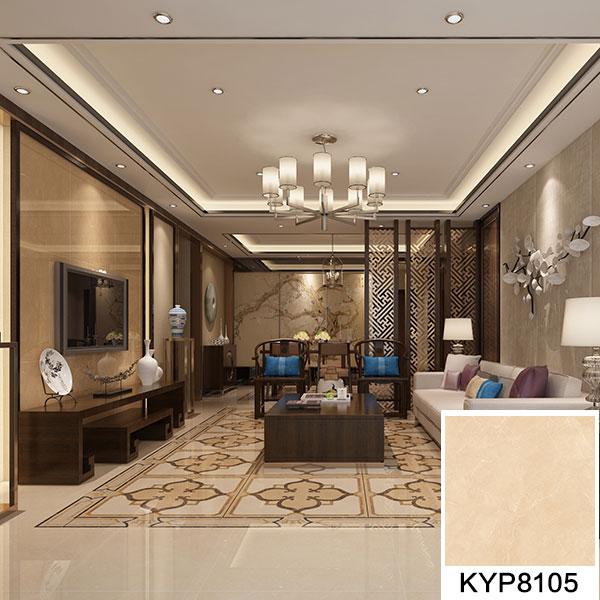 金艾陶大理石瓷砖:世纪米黄KYP8105