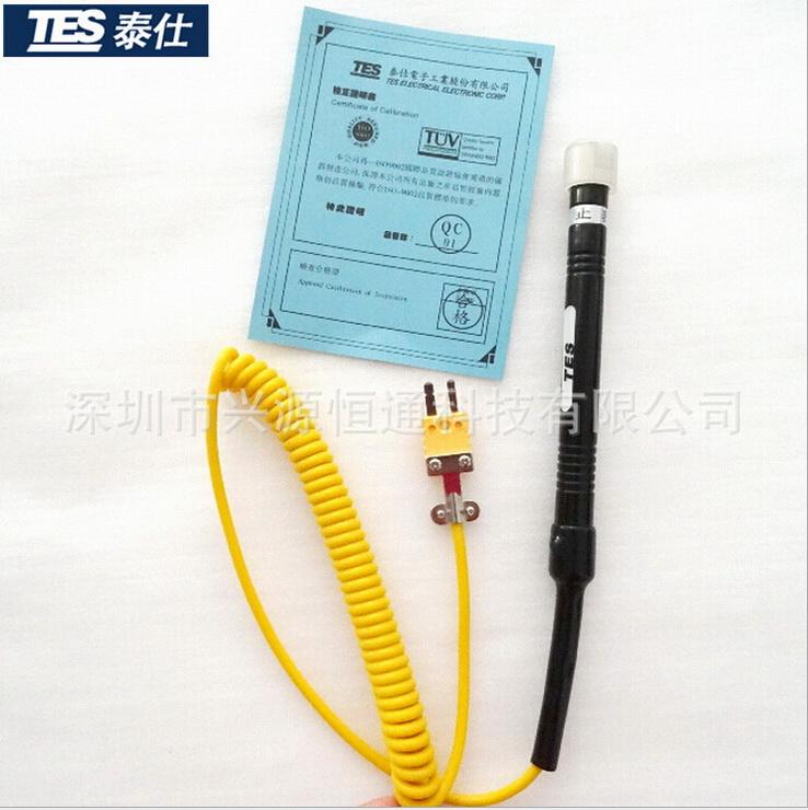 台湾泰仕TP-K03片状接触式表面热电偶探头