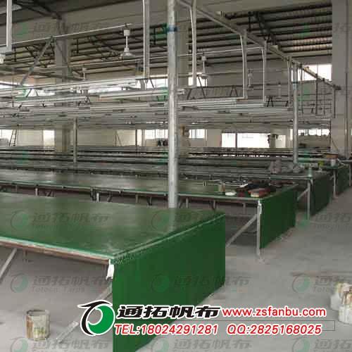江门绿色印花台皮 PVC涂塑布印花台皮胶批发ML2X3-1