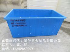 专业生产:耐撞击方形养殖桶 塑胶pe鱼虾腌制桶 防腐蚀塑料培植桶
