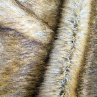 供应 大毛皮 毛绒 狐狸毛 人造毛皮 假皮草服装面料