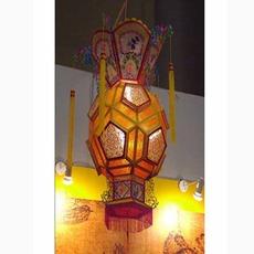 室外广告灯笼印字pvc仿羊皮灯笼防水冬瓜灯笼串户外批发定制