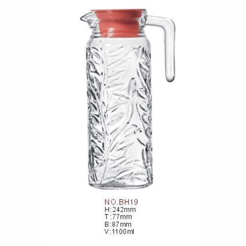 供应  厂家直销、1100ml容量树叶壶  冷水壶  水壶