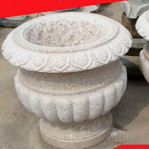 欧式白色花盆图片