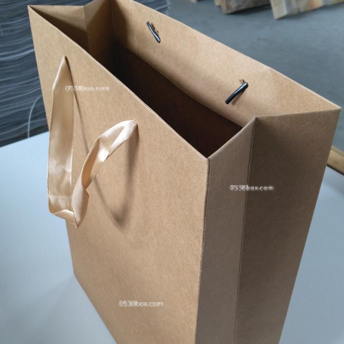 泰安牛皮纸手提袋环保纸袋