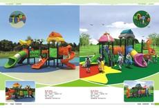 供应2016新款儿童工程塑料滑梯 幼儿园儿童组合滑梯 美观安全