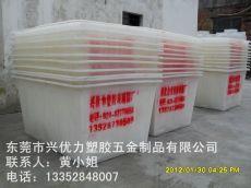 厂家直销:食品厂用方形塑料桶 纺织厂用方形印染桶 防腐蚀塑料方桶