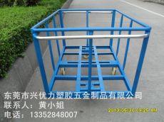 厂家制造:方形桶洗水布料车 印染车间用运输手推车 洗水洗涤周转台车