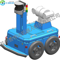 室外激光导航巡检机器人 电厂车间巡检机器人小车 移动机器人 整车 底盘可定制 苏州智伟达机器人科技