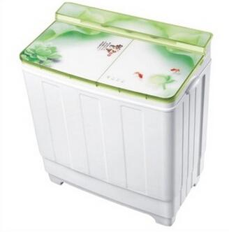 供应 XPB100双桶洗衣机半自动10.0kg洗衣机SG-2大容量双筒带脱水甩干