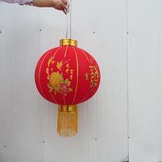 植绒布烫金龙凤喜字灯笼婚庆用品喜庆大红灯笼双喜百年好合灯笼