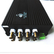 前升科技 QSH-R8V1A-20KM 8路视频 1路RS485双向数据光端机
