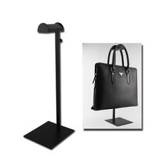 鑫宗師 不銹鋼黑色烤漆掛包架 手袋展示架 皮具陳列道具 掛包包架