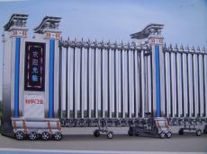 北京不锈钢伸缩门厂家 型号-002号