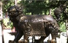 铜雕貔貅装饰摆设