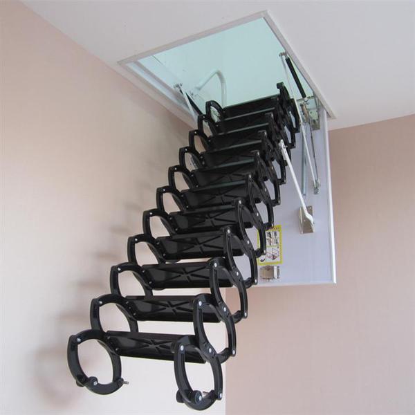 亿都阁楼伸缩楼梯图片