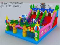 品质供应呼伦贝尔充气城堡游乐玩具